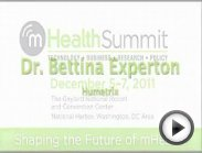 Dr. Bettina Experton: 2011 mHealth Summit