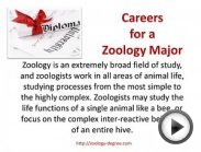 Zoology Degree